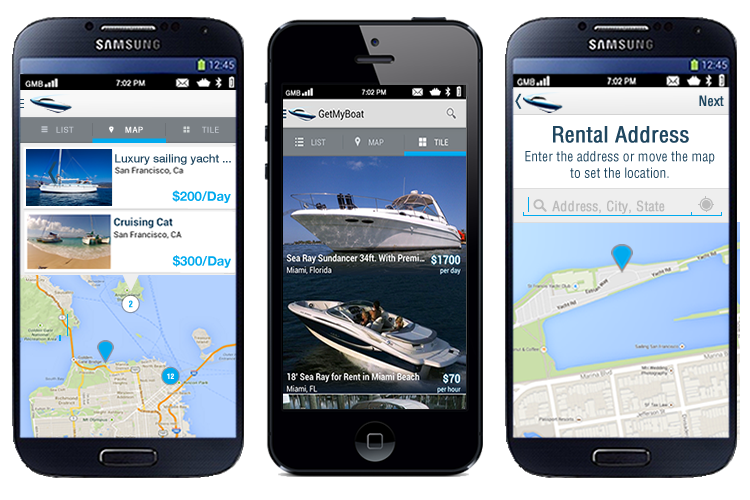 GetMyBoat App for iOS and Apple