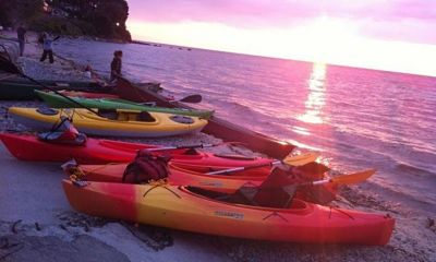 Kayaking on the Great Lakes