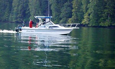 Boating on Vancouver Island