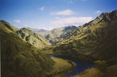 Boating Snake River and Hells Canyon
