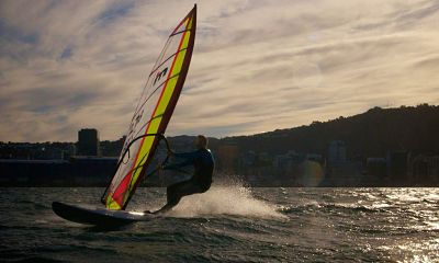 Windsurfing in Auckland