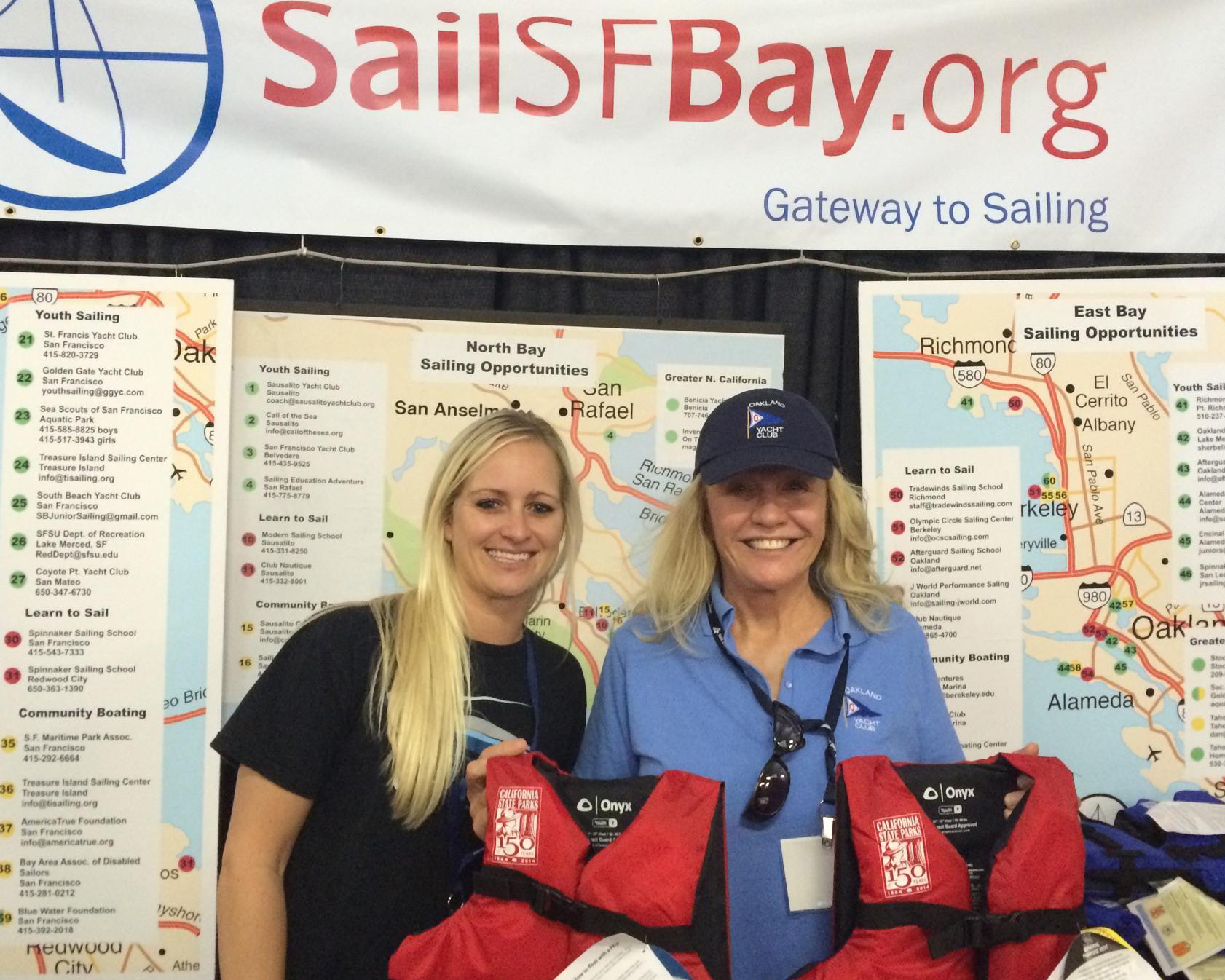 GetMyBoat and SailSFBay partner at Strictly Sail Pacific